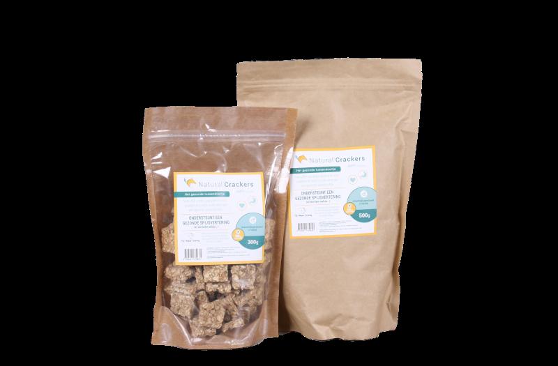Natural Crackers Natuurlijke snack Lekker