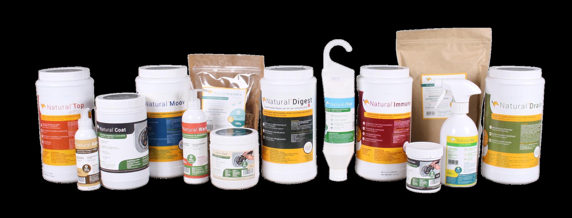 Natuurlijke supplementen paard